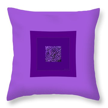 Rare Flower Throw Pillow by Marija Djedovic