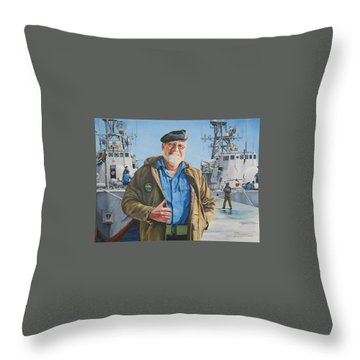 Ras Throw Pillow by Tim Johnson
