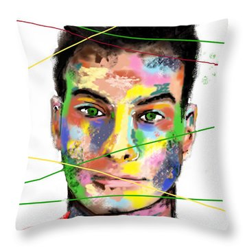 Rasa Throw Pillow by Sladjana Lazarevic