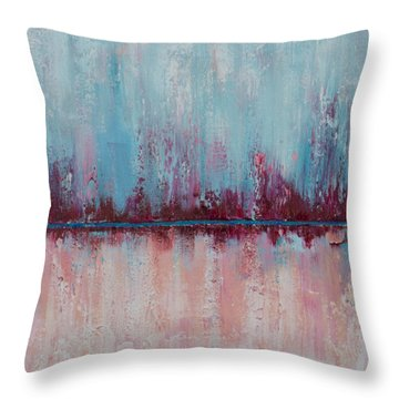 Raspberry Parfait Throw Pillow by Suzzanna Frank