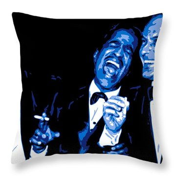 Rat Pack At Carnegie Hall Throw Pillow