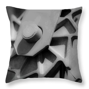Throw Pillow featuring the photograph Ratchet by Rhys Arithson