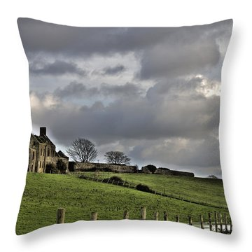 Rathfran House Throw Pillow