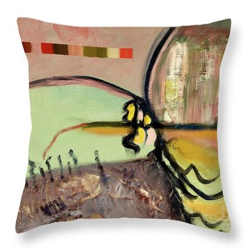 Rational Thought Begins Here Throw Pillow