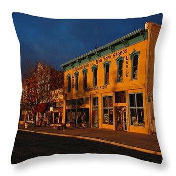 Raton Historic District Throw Pillow