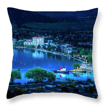 Throw Pillow featuring the photograph Raven's Eye View by John Poon