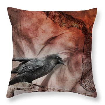 Ravens Lot Throw Pillow