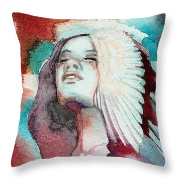 Ravensara Throw Pillow