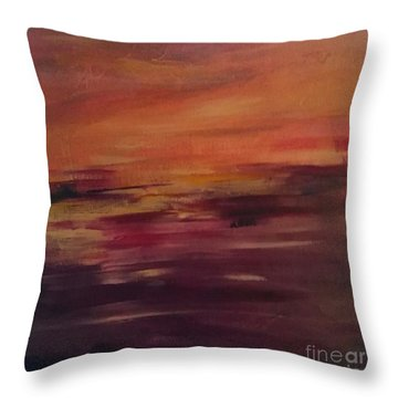 Raw Emotions Throw Pillow