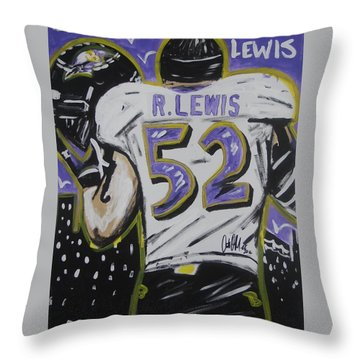 Ray Ray Throw Pillow