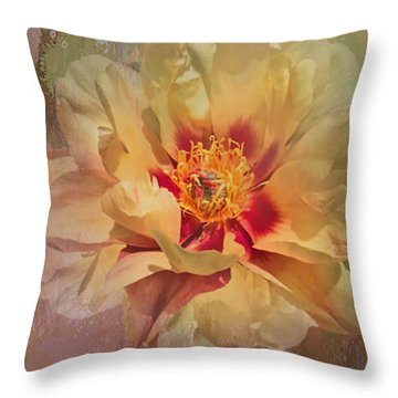 Rayanne's Peony Throw Pillow