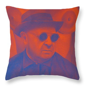 Raybanned Throw Pillow