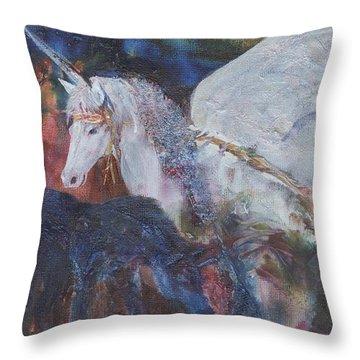 Rayden's Magic Throw Pillow
