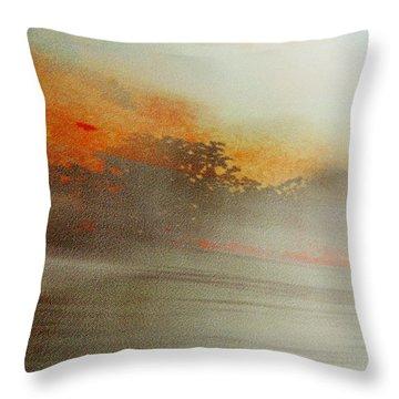 Rayon Abstract  Throw Pillow