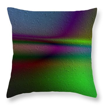 Rayos Tranquilos Throw Pillow