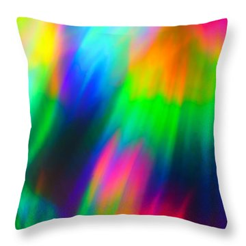 Throw Pillow featuring the photograph Razzi by Greg Collins