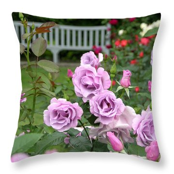 r.'Blueberry Hill' 6426 Throw Pillow