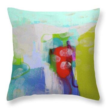 Re-emerging Throw Pillow