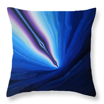 Re-entry Throw Pillow