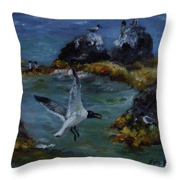 Re-tern-ing Home Throw Pillow