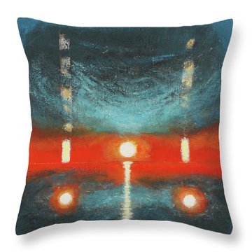 Reach For The Dead Throw Pillow