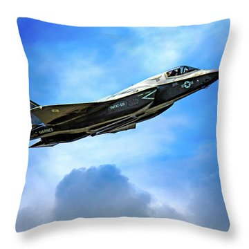 Reach For The Skies Throw Pillow