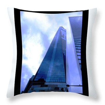 Reach For The Sky. Throw Pillow