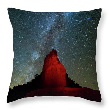 Throw Pillow featuring the photograph Reach For The Stars by Stephen Stookey
