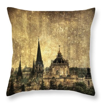 Reach Out Throw Pillow by Evelina Kremsdorf