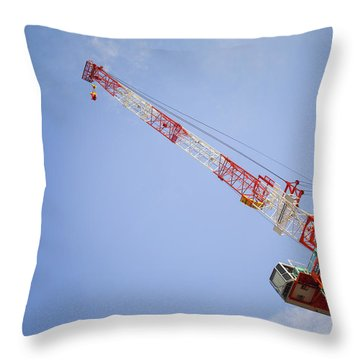 Reached High Throw Pillow