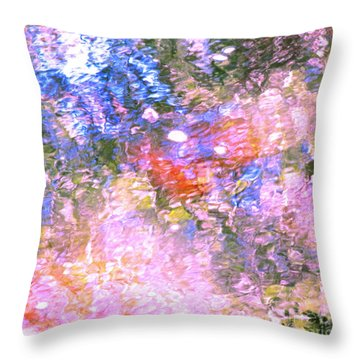 Reaching Angels   Throw Pillow