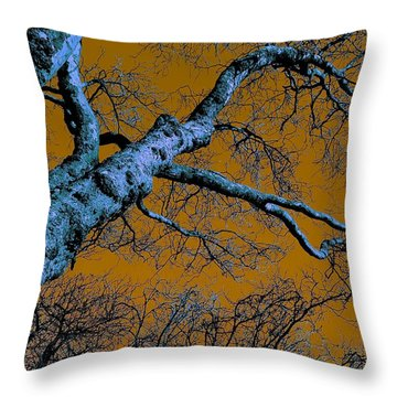 Reaching For The Skies Throw Pillow