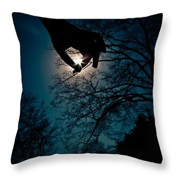 Reaching For The Stars Throw Pillow by Jessica Brawley