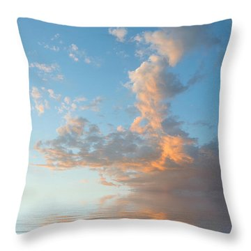 Reaching High Throw Pillow by Jerry McElroy