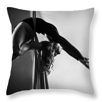 Reaching Light Throw Pillow