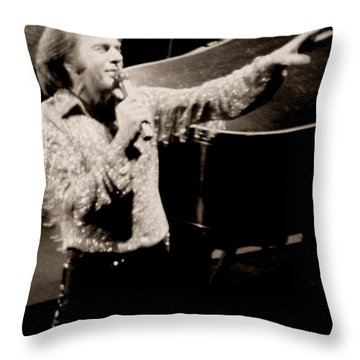 Reaching Out Throw Pillow by Ron Chambers