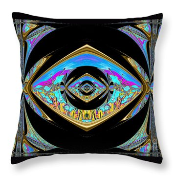 Reaching The Goal Throw Pillow