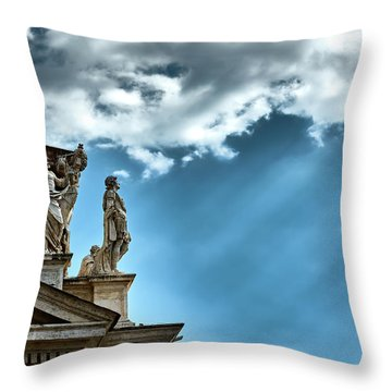 Reaching The Sky Throw Pillow
