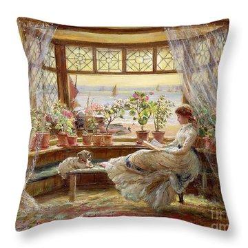 Glass Throw Pillows