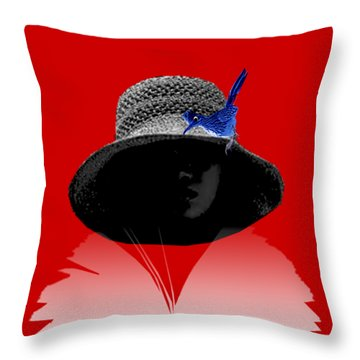 Reading Together Throw Pillow