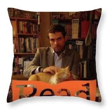 Read  National Readathon Throw Pillow