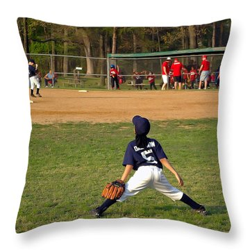 Ready Throw Pillow by Brian Wallace