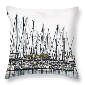 Ready For A Sail Throw Pillow