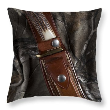 Throw Pillow featuring the photograph Ready For Anything by Andrew Pacheco