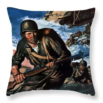 World War I Throw Pillows