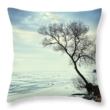 Ready For Awakening Throw Pillow by Charline Xia