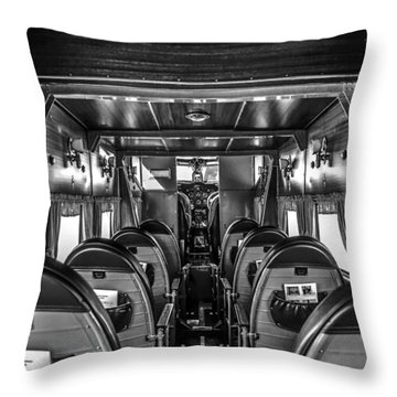 Ready For Boarding Throw Pillow