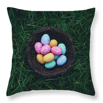 ready for Easter Throw Pillow