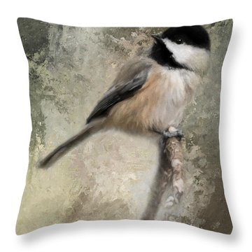 Ready For Spring Seeds Throw Pillow
