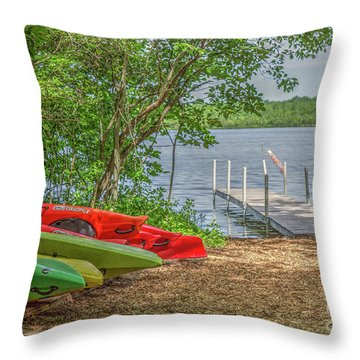 Ready For Summer Throw Pillow